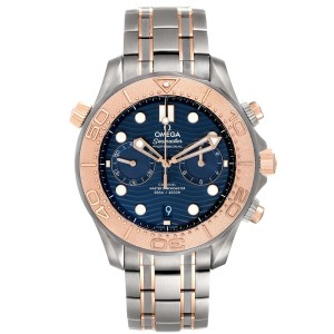 Omega Seamaster Diver Master Chronometer Watch 210.60.44.51.03.001 Unworn