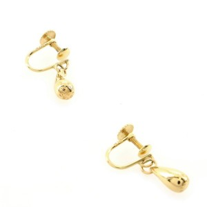 Tiffany & Co. Elsa Peretti Teardrop Earrings 18K Yellow Gold
