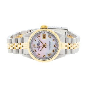 Rolex Datejust Two Tone Ladies Watch