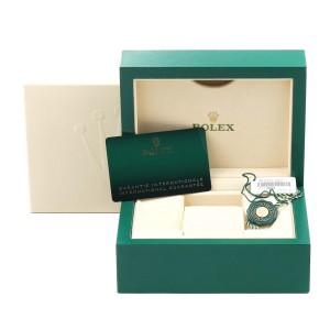 Rolex Explorer I Luminescent Arabic Numerals Mens Watch 214270 Box Card