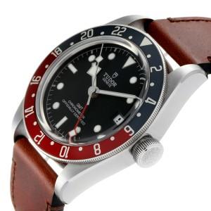 Tudor Heritage Black Bay GMT Pepsi Bezel Mens Watch 79830RB Unworn