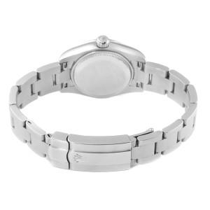 Rolex Nondate Steel White Gold Salmon Dial Ladies Watch