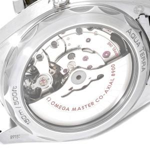 Omega Seamaster Aqua Terra Orange Hand Watch 220.10.41.21.02.001 Box Card