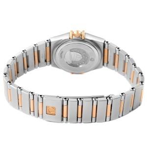 Omega Constellation My Choice Steel Rose Gold Diamond Watch