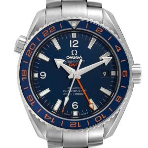 Omega Seamaster Planet Ocean GMT Mens Watch 232.30.44.22.03.001 Box Card