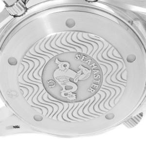 Omega Seamaster Chronograph Black Dial Steel Mens Watch