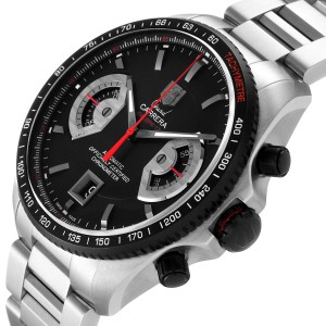 Tag Heuer Grand Carrera Black Dial Automatic Mens Watch