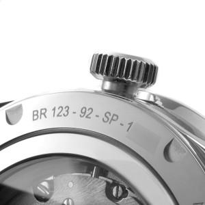 Bell & Ross Sport Heritage Black Dial Steel Mens Watch BRV123
