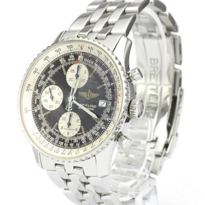 BREITLING Stainless Steel Old Navitimer Watch HK-2350