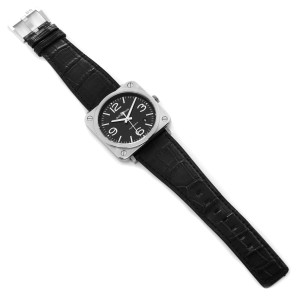 Bell & Ross Officer Black Dial Automatic Steel Mens Watch