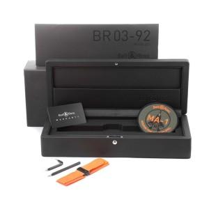 Bell & Ross Matte Khaki Dial Automatic Ceramic Mens Watch