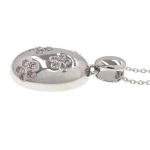 18k white gold Pink Diamond Necklace