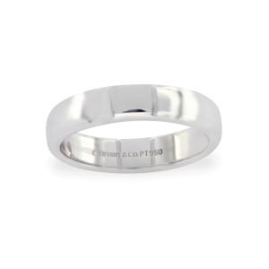 Tiffany & Co. 950 Platinum Wedding Ring Size 10