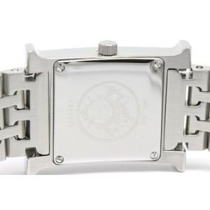 Hermes H HH1.210 Stainless Steel Quartz 21mm Womens Watch