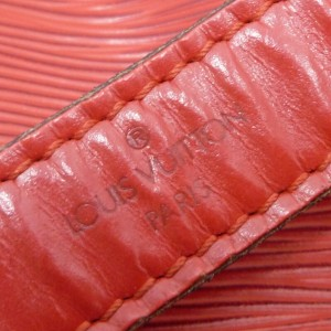 LOUIS VUITTON Epi Leather Petit Noe Drawstring Shoulder Bag M44107