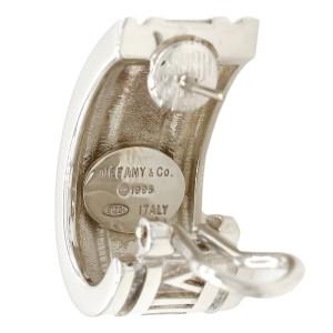 Tiffany & Co. Atlas Sterling Silver Earrings