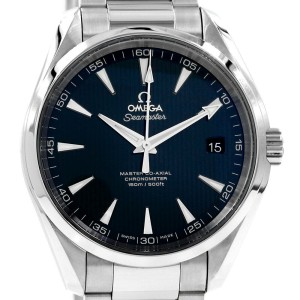 Stainless Steel 42mm Omega Seamaster Aquaterra Co-Axial