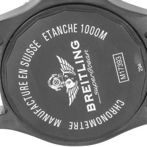 Breitling Superocean 44 Special Blacksteel Mens Watch M17393