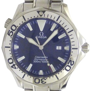 Omega Seamaster Stainless Steel with Blue Dial 41mm Mens Watch