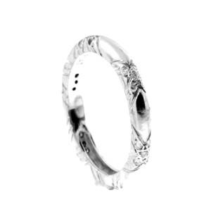 Platinum  Pave Set Diamond Wedding Band