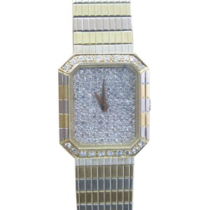 Concord 18K Yellow Gold & Diamond Quartz Watch
