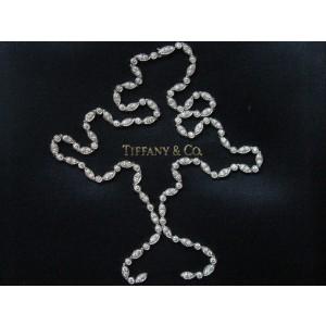 Tiffany & Co. Platinum & Diamond Swing Necklace