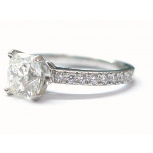 Tiffany & Co. Platinum Novo Diamond Engagement Ring