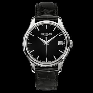 Patek Philippe Calatrava 5227G-010 18K White Gold & Leather 39mm Watch