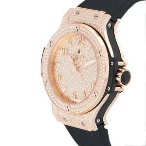 Hublot Big Bang 361.PX.9010.RX.1704 18K Rose Gold 36mm Womens Watch