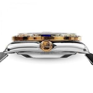 Ladies Rolex 26mm Datejust Two Tone Jubilee Pink String Diamond Dial Vintage Style Marker Bezel + Lugs + Sapphire