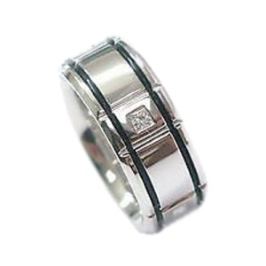 Platinum Verragio Princess Cut Diamond Band Ring
