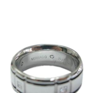 Platinum Verragio Princess Cut Diamond Band Ring