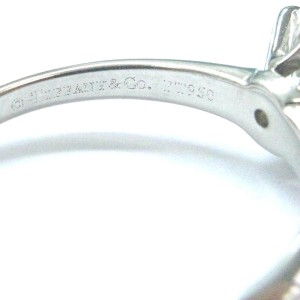 Tiffany & Co. PT950 Platinum with 2.32ct Solitaire Diamond Ring Size 7.5