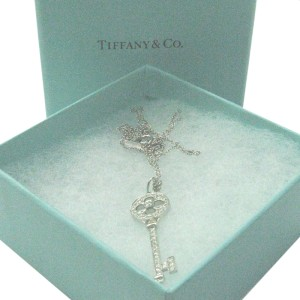 Tiffany & Co. PT950 Platinum with 0.45ct Diamond Pendant Necklace