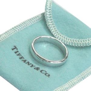 Tiffany & Co. PT950 Platinum Wedding Band Ring Size 5.5