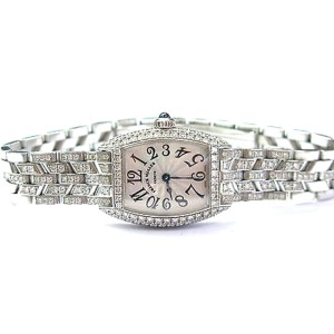 Franck Muller Cintree Curvex 2500 QZD 28mm Womens Watch