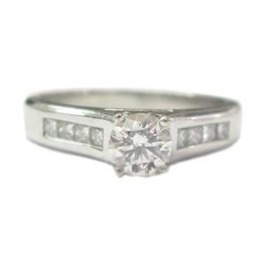 Platinum Jeff Cooper Diamond Engagement Ring