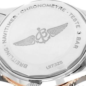 Breitling Navitimer 1 41mm Steel Rose Gold Mens Watch U17325