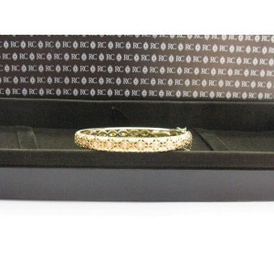 Roberto Coin 18K Yellow Gold & Diamond Bangle