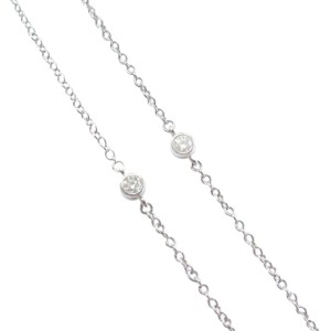 Tiffany & Co. Rose 950 Platinum & 1.80ct Diamond Floral Pendant Necklace