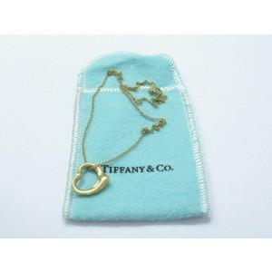 Tiffany & Co. Elsa Peretti 18K Open Heart Pendant