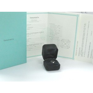 Tiffany & Co. Platinum Lucida Diamond Solitaire Engagement Ring