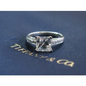 Tiffany & Co. Platinum Diamond Grace Engagement Ring