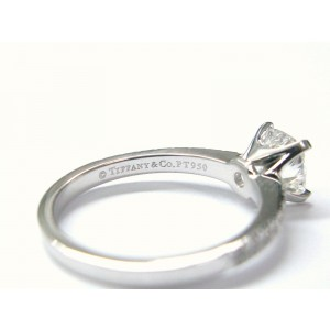 Tiffany & Co. Platinum Novo Diamond Solitaire Ring