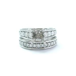 Scott Kay Platinum Diamond Wedding Mounting Ring