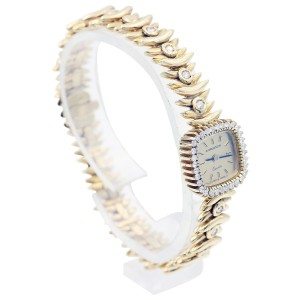 Longines 18K Yellow Gold and Diamonds Ladies  Vintage Watch