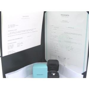 Tiffany & Co. Platinum Diamond Solitaire Engagement Ring