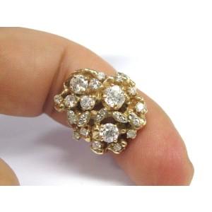 14K Yellow Gold 2.07 ct. Diamond Ring