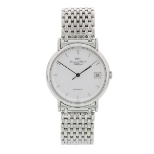 IWC Stainless Steel Automatic Vintage 34mm Mens Watch