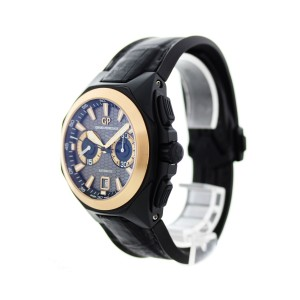Girard Perregaux Chrono Hawk 49970 44mm Mens Watch